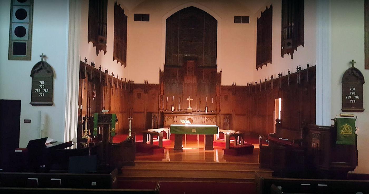 trinity lutherna church altar